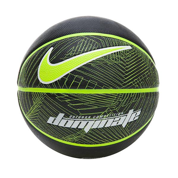 Nike Dominate 8P [N000116504407] 籃球 7號 耐磨 控球佳 室內 戶外 黑綠