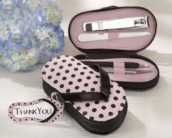婚禮小物~~拖鞋修容組 /盒