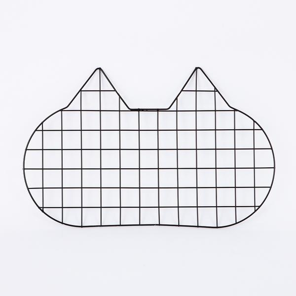 鐵藝網格貓咪memo板-生活工場