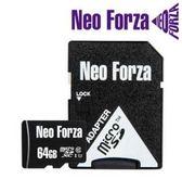 【超人生活百貨】NEO FORZA 64GB micro SDXC UHS-1/C10 記憶卡 5年保固 高速存取