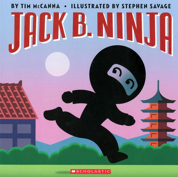 【麥克書店】JACK B. NINJA /平裝繪本《主題:幽默.押韻》