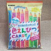 (日本) KANRO 甘樂 彩色鉛筆糖 1包80公克【4901351018491】