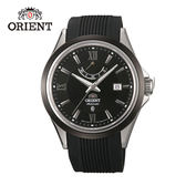 ORIENT 東方錶 POWER RESERVE系列 40小時動能儲存 膠帶款 FFD0K002B 黑色 - 42mm