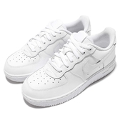 Nike Force 1 PS AF1 White 全白 白 經典 復古 小朋友 中童鞋【PUMP306】 314193-117