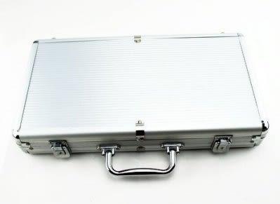 300碼銀色籌碼鋁箱 德州撲克籌碼皮箱 百家樂碼盒