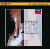【停看聽音響唱片】【K2HD】黎奇小提琴Ruggiero Ricci:Virtuoso Violin