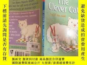 二手書博民逛書店the罕見clever cat top of the class:聰明的貓是全班第一Y200392