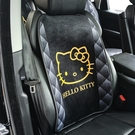 Kitty 三麗鷗 汽車坐墊 靠背 免綑綁 汽車 毛絨