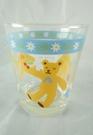 【震撼精品百貨】HONEY FIELD 熊~玻璃杯『藍底白花』