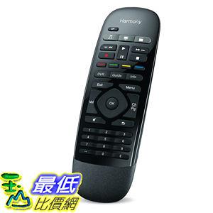 [美國直購] Logitech Harmony 915-000194 Smart Control  智慧遙控器 with Smartphone App and Simple Remote - Black
