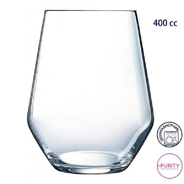 法國Luminarc樂美雅Arc ARCOROC 羅亞水杯 400cc水杯 飲料杯 果汁杯 玻璃杯