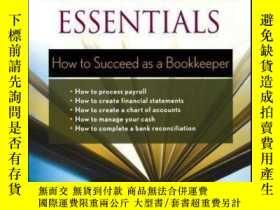 二手書博民逛書店Bookkeeping罕見Essentials: How to Succeed as a Bookkeeper