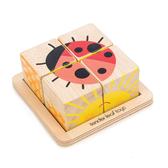 【美國Tender Leaf Toys】可愛飄蟲立體拼圖(益智啟蒙學習教具)
