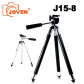JOVEN J15-8 自拍三腳架 手機專用 手持自拍 / 定點拍攝 八段式銅管 展長102cm (黑)