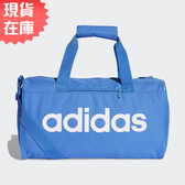 【現貨】ADIDAS LINEAR CORE DUFFEL (XS) 旅行袋 手提袋 健身 藍 【運動世界】 DT8620