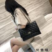 菱格鏈條包時尚單肩斜挎手提大容量女包