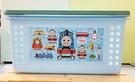 【震撼精品百貨】湯瑪士小火車_Thomas & Friends~日本製湯瑪士塑膠置物籃/提籃-藍(展示品)#05649