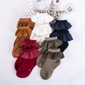 糖果甜氛波浪邊針織短襪(5色)(P11644)★水娃娃時尚童裝★