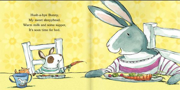 『線上聽.手上讀』HUSH-A-BYE BUNNY/英文繪本《主題: 溫馨.床邊故事》