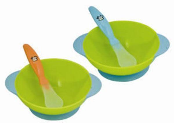 貝喜力克寶寶餐碗+安全湯匙(D152)