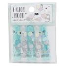 KAMIO 日本製透明亮粉鉛筆筆蓋組 5入 鉛筆帽  小企鵝 冰淇淋 薄荷綠灰_KM22298
