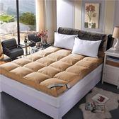 床墊單雙人1.5米1.8m榻榻米學生加厚床褥子軟墊被床護墊可摺疊【快速出貨】