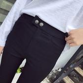 休閒褲-時尚經典百搭純色鉛筆女長褲73tq33【巴黎精品】