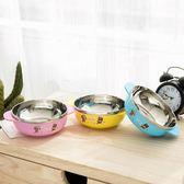 色麗雅小熊熊卡通兒童304不銹鋼碗可愛餐具環保寶寶可愛防燙
