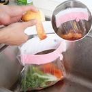 三吸盤 廚房 水槽 垃圾袋 收納架 廚餘...