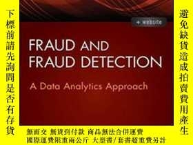 二手書博民逛書店Fraud罕見And Fraud Detection + Website: A Data Analytics Ap