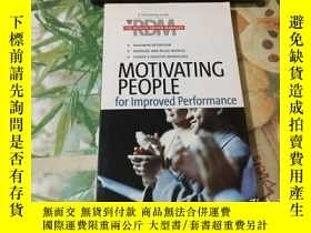 二手書博民逛書店Motivating罕見people for improved performanceY204356 Harv