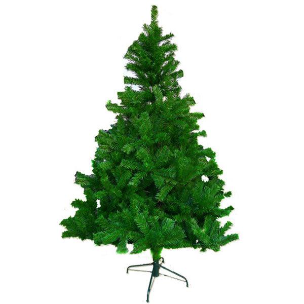 【摩達客】台灣製 5呎/5尺(150cm)豪華版綠色聖誕樹裸樹 (不含飾品)(不含燈)