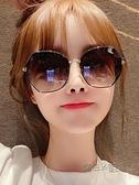 2021年新款女士時尚墨鏡 韓版潮防紫外線偏光太陽眼鏡網紅大臉夏 魔法鞋櫃