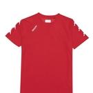 KAPPA義大利 舒適時尚中性圓領T恤 紅 3118KBWD18