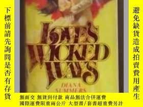 二手書博民逛書店《罕見Love s Wicked Ways 》Diana Sum