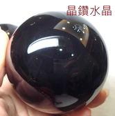 『晶鑽水晶』天然黑曜石球 8公分 帶銀眼*附底座!超值特惠中*免運費