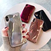 個性3D菱形鐳射iPhone xs max手機殼蘋果8plus/7潮 科炫數位