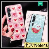 【萌萌噠】小米Note10 小米CC9pro  少女系菱形殼 美少女 小鱷魚 全包軟邊 菱形背板 手機殼 手機套