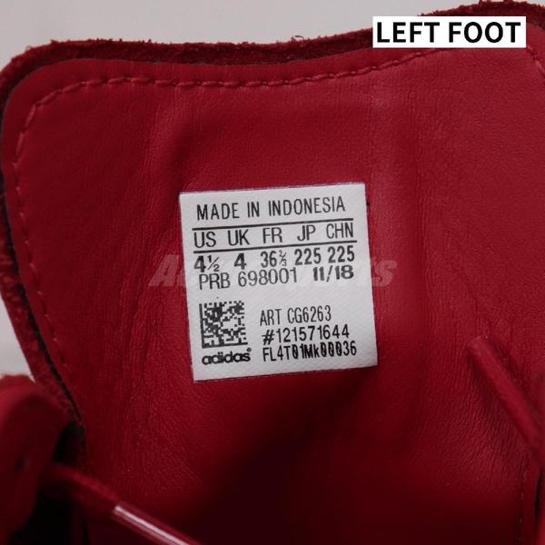 【US5-NG出清】adidas 休閒鞋 Superstar 80s 紅 白 貝殼頭 愛迪達 女鞋 男鞋 尺寸不同左腳US4.5【ACS】