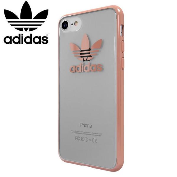 adidas Originals 5.5吋 iPhone 7 PLUS/i7+ 玫瑰金 TPU Cover 2017 邊框加厚 防摔手機套/保護殼/27055