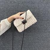 今年流行的小方包包潮時尚百搭單肩斜挎洋氣女包-Milano米蘭