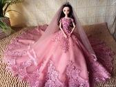 洋娃娃婚紗娃娃套裝禮盒女孩公主洋娃娃仿真兒童玩具單個生日畢業禮物 歐韓流行館