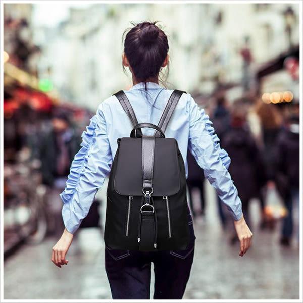後背包-造型拉鍊中性束口後背包-單1款-A12121570-天藍小舖