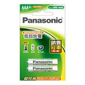 panasonic 鎳氫充電電池4號2入標準款