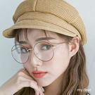 MD韓製-大圓框眼鏡-3色【08040249】