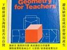 二手書博民逛書店GEOMETRY罕見FOR TEACHERS教師用幾何學英文版Y256699 出版1975