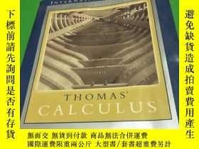 二手書博民逛書店Thomas罕見Calculus(ELEVENTH)(托馬斯微積