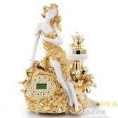 復古電話精品時尚創意金色座機歐式機 仿古電話機美女電話機 NMS陽光好物