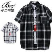 男襯衫 復古經典格紋襯衫【NW639014】