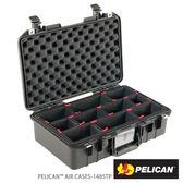 美國 PELICAN 1485AirTP 超輕氣密箱-含TrekPak 隔板(黑)